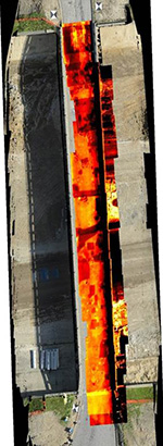 thermal IR imagery